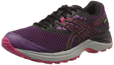 ASICS GEL PULSE 8 Laufschuhe schwarz pink Gr. 38 Jogging