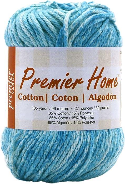 Top 9 Premier Yarn Home Cotton Ocean Splash