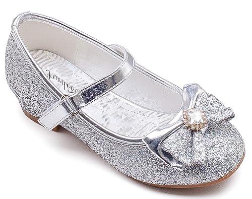 Princess Silver Dress Shoes