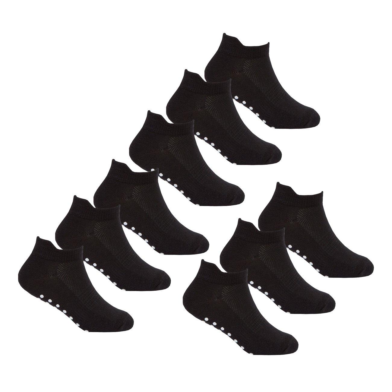 RedTag Active Boys Socks Non Slip Sole Grip Sport Trainer