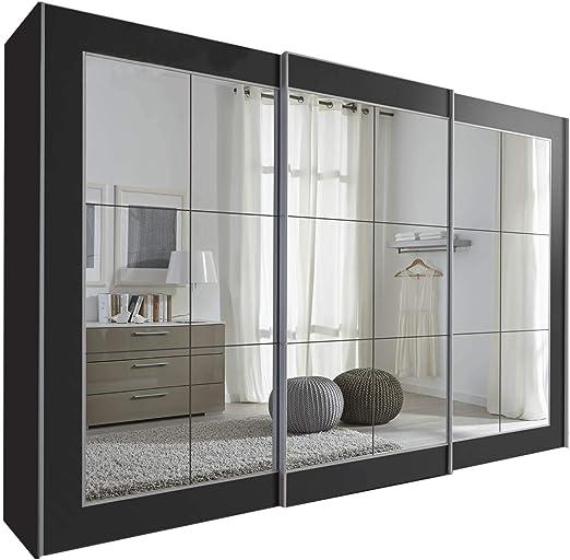 Schlafzimmer Lattice - Armario de puerta corredera con espejo ...