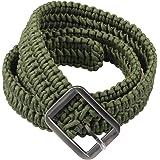 Survival Kit EDC Paracord Belts - Metal Buckle Belts for Men