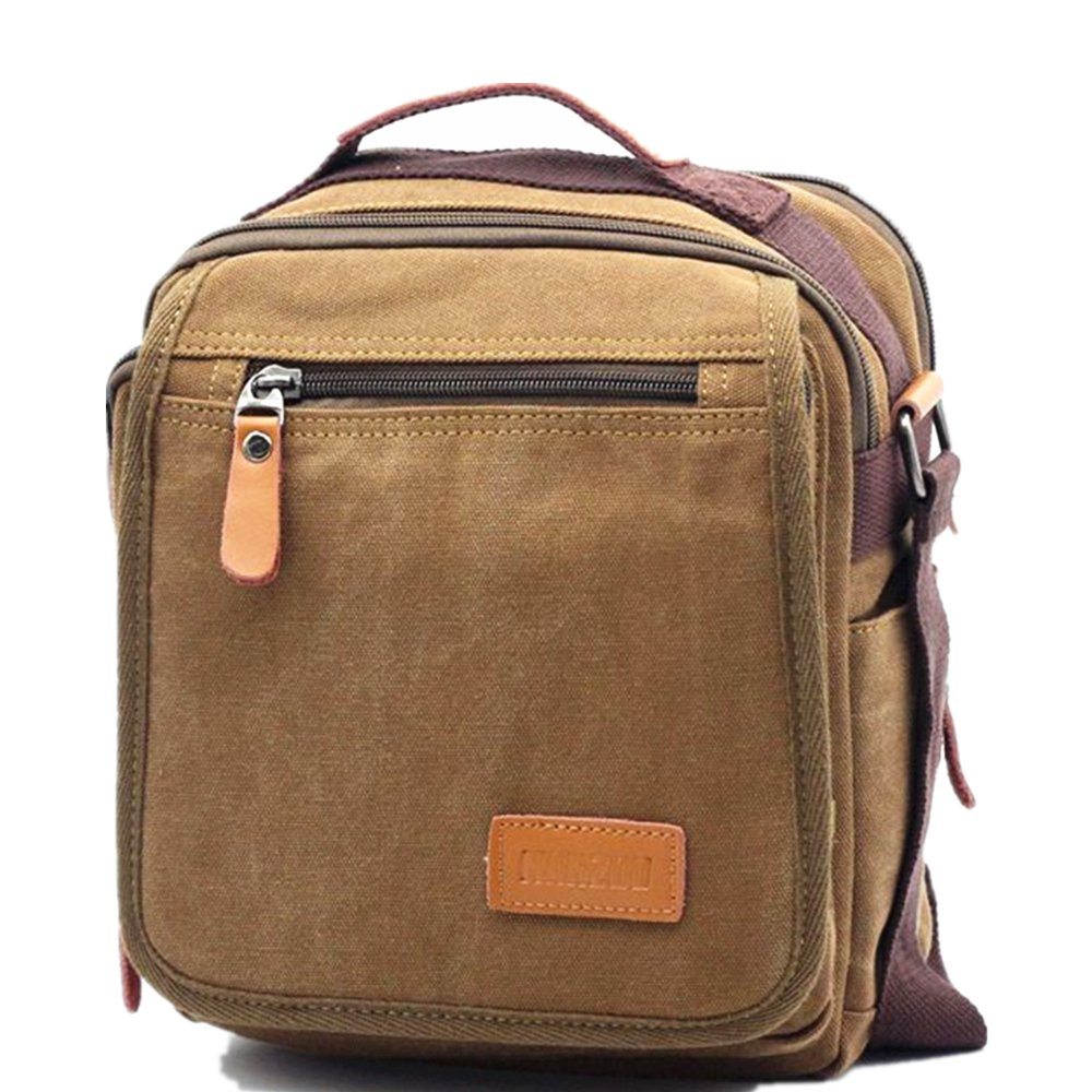 9e720e8591786d 85%OFF Vintage Canvas Shoulder Bag Messenger Bag ipad Bag Work Bag Business Bag  Purse
