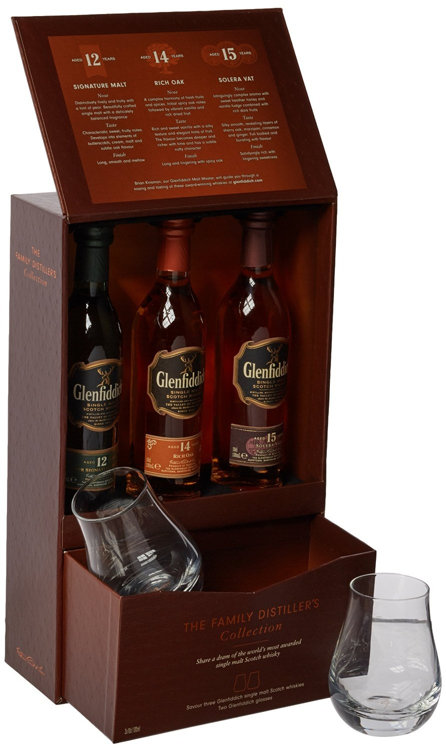 Glenfiddich Family Distillers Collection with 2 Glasses Gift Pack 3 x 10 cl Amazon.co.uk Grocery  sc 1 st  Amazon UK & Glenfiddich Family Distillers Collection with 2 Glasses Gift Pack ... Aboutintivar.Com