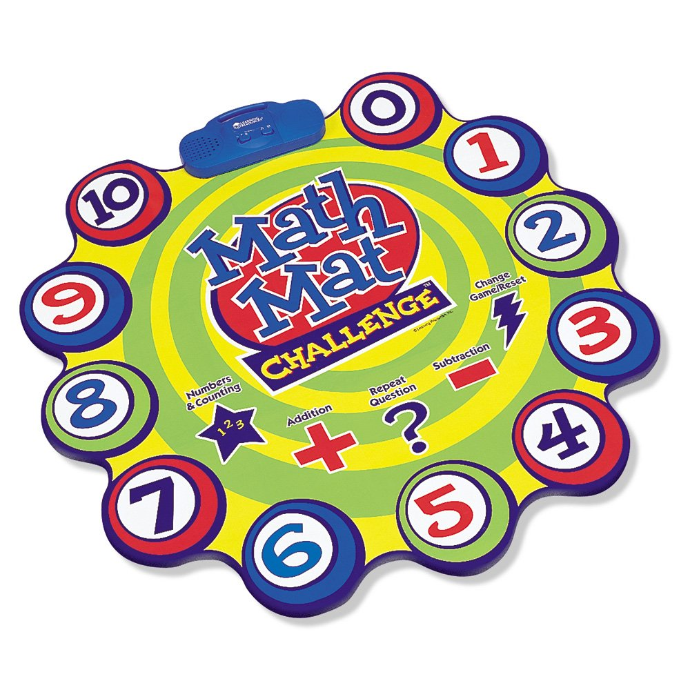 Amazon.com: Learning Resources Math Mat Challenge Game: Toys & Games