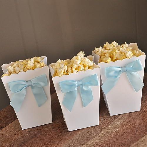 Amazoncom Ready To Pop Mini Popcorn Boxes With Bows Ready To Pop