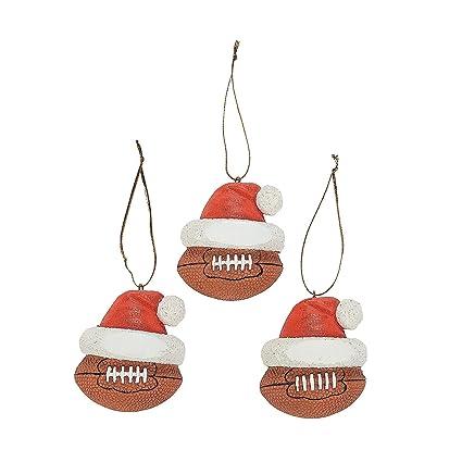 Football Ornaments (12 Ornaments per Order) Resin/Christmas Tree/Holiday  Decorations/ - Amazon.com: Football Ornaments (12 Ornaments Per Order) Resin