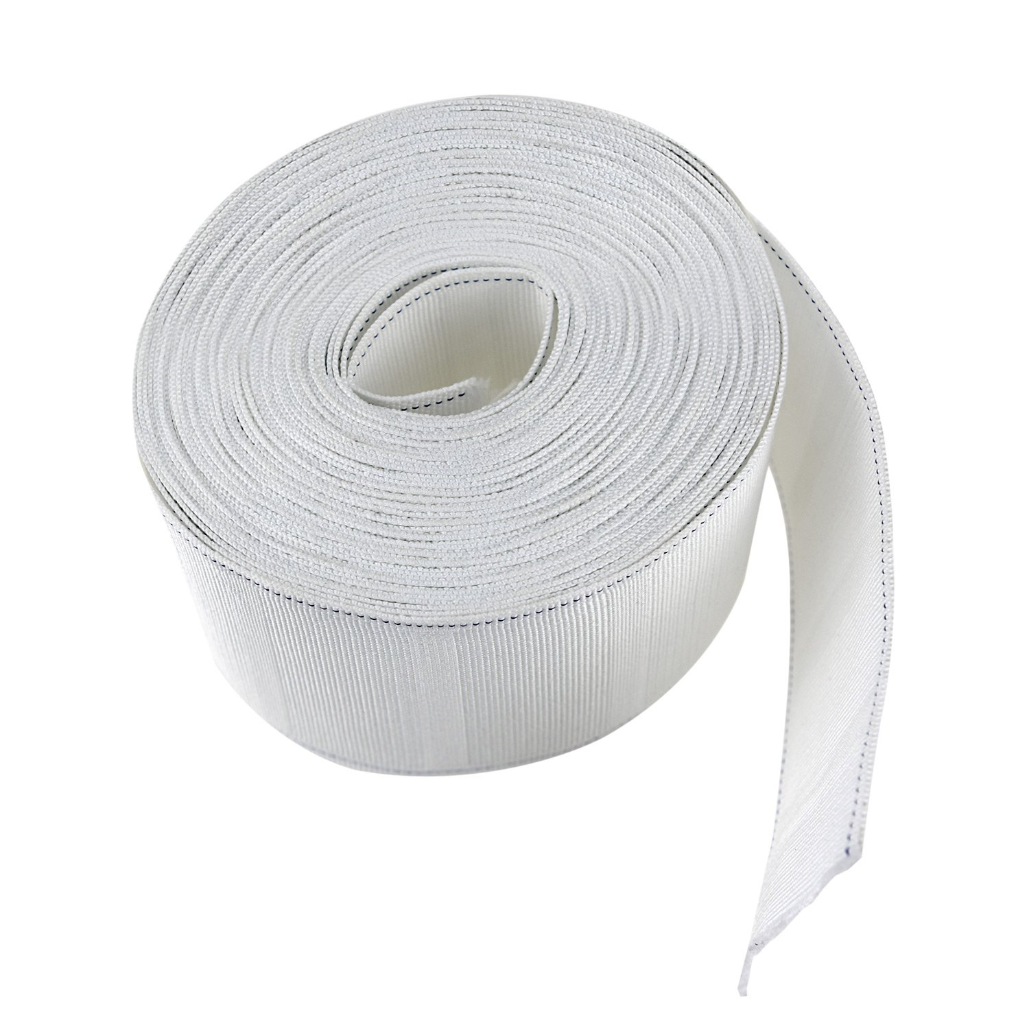 NKTM Curtain Tape 11 Yard Curtain Heading Deep Pinch Pleat Tape White