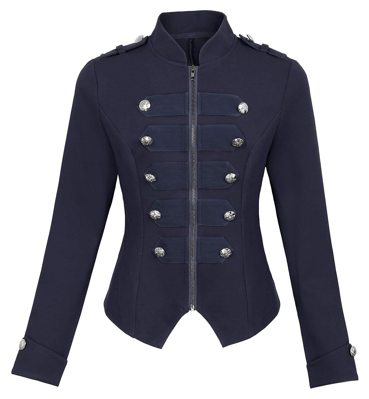 Kate Kasin Womens Victorian Steampunk Ringmaster Jacket ...