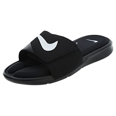 reputable site d796b b4bbc NIKE Mens Ultra Comfort Slide Sandals, BlackWhite-black, 6 D(