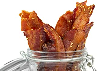product image for Delicious Uncured Real Bacon Jerky Hand Crafted Small Batch Korean BBQ Paleo Friendly MSG Free Nitrate & Nitrite Free (Korean BBQ Paleo, 6 pack)