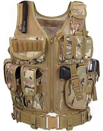 Amazon.com  Tactical Vests - Protective Body Equipment  Sports ... 6f828b0275621