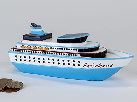 Amazon De Kleine Spardose Reisekasse 15 Cm Lang Schiff Kreuzfahrt