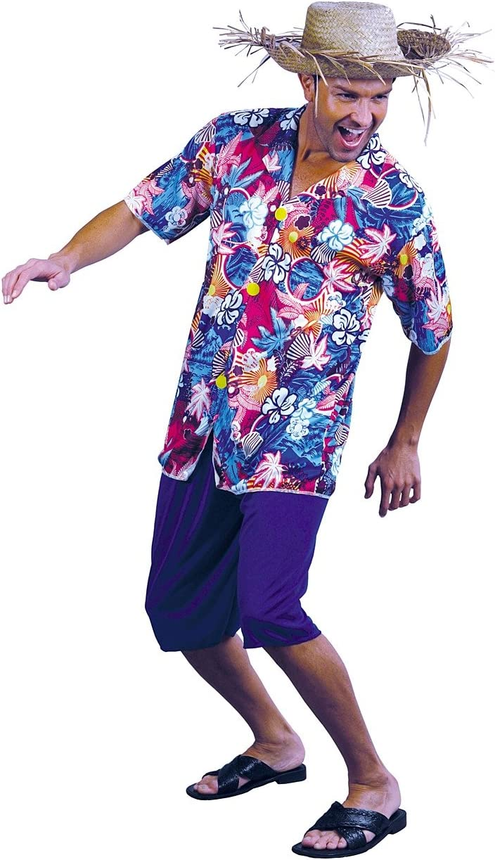 Value - Disfraz de hawaiano para hombre, talla única (22673 ...
