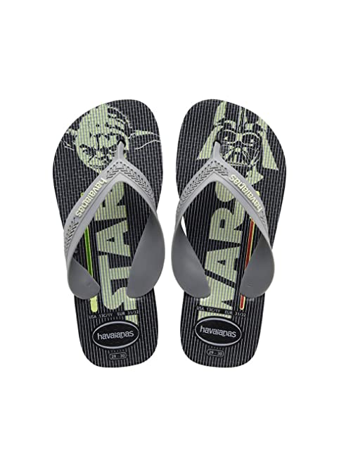 b7e9adbafa7f70 Havaianas Kids Max Star Wars Black Flip Flop 25 26  Amazon.ca  Shoes    Handbags