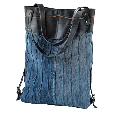 Amazon.com: Denim y bolsa de hule reciclado Tire: Shoes