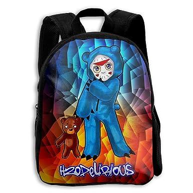 CMJJJR4 H20-Delirious 3D Kids Customized Backpack School Bags