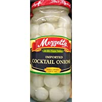 Mezzetta Imported Cocktail Onions 16 Ounce (Pack of 2)