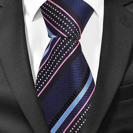 QEHWS Corbata Corbatas para Hombre Corbatas para Corbata Ancha ...