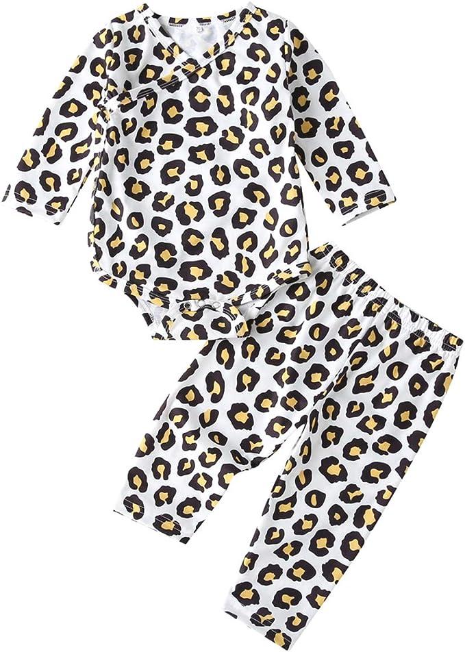 SunFocus Pigiama Bambino Ragazzi Manica Lunga Stampa 2 Pezzi Pigiama con Pantaloni 2-6 Anni 2 Pezzi Bambini Abbigliamento