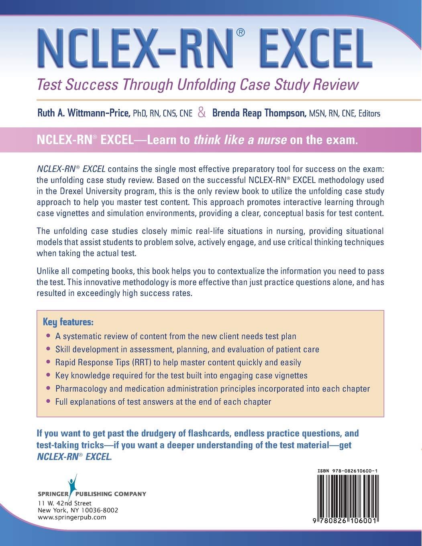 NCLEX-RN? Excel: Test Success through Unfolding Case Study
