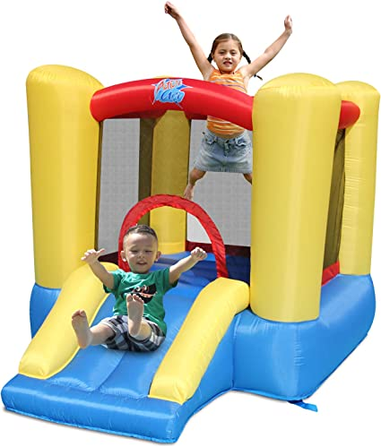Amazon Com Action Air Bounce House Toddler Inflatable Bounce