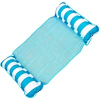 عوامة مائية للسباحة من سوفام، مرتبة عائمة للبالغين، 4 في 1 متعددة الأغراض قابلة للنفخ (للركوب، كرسي استرخاء، أرجوحة…