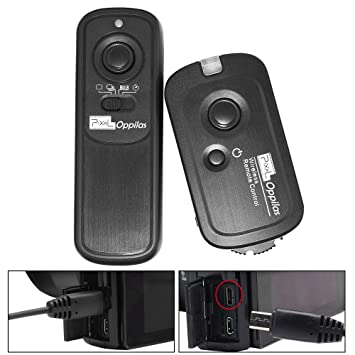 PIXEL Oppilas/S2 Wireless Shutter Remote Control Release for Sony Micro single Digital Camera A58