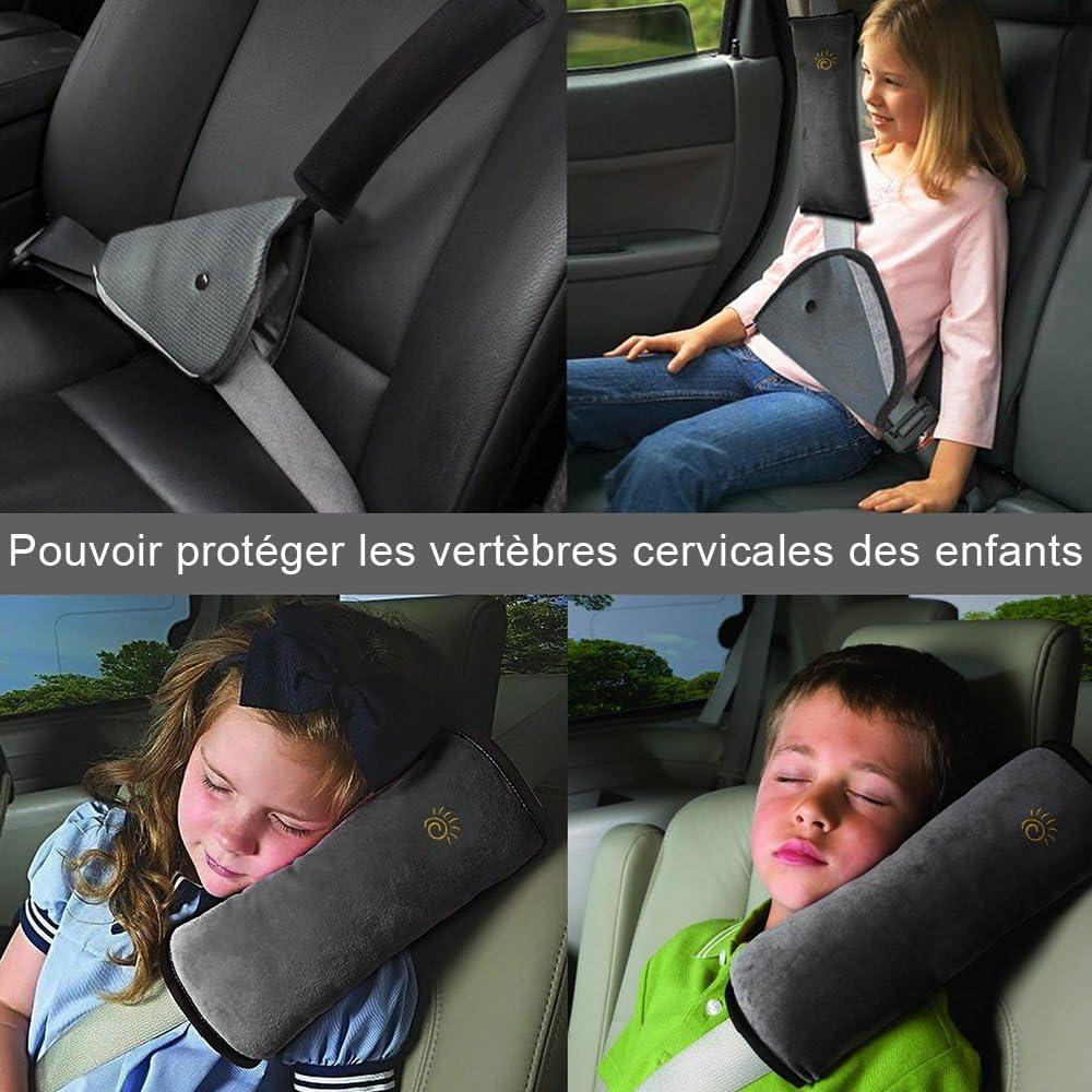 Coussin de ceinture de s/écurit/é de voiture coussins de ceinture de s/écurit/é de coussin de ceinture de s/écurit/é de voiture pour enfants
