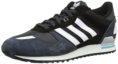 adidas Originals Zx 700 7 D65287, Herren Sneaker, Schwarz