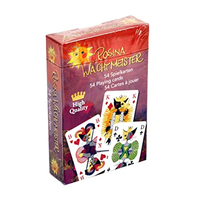 "Fridolin 12111 ""Rosina Wachtmeister Art Card Game: Toys & Games"