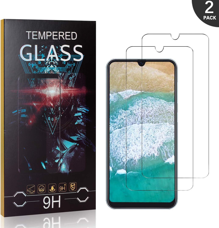 Anti-/Öl Generic UXIU Schutzfolie f/ür Samsung Galaxy A50 2 St/ück Displayschutzfolie mit 9H H/ärte Anti-Bl/äschen Anti-Kratzen Folie Screen Protector