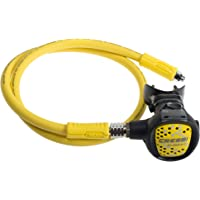 Cressi Octopus XS-Compact, Light and Flexible Octopus for Scuba Diving, Made in Italy