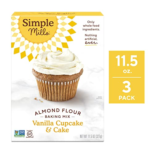 Simple Mills Almond Flour Mix Vanilla Cupcake & Cake