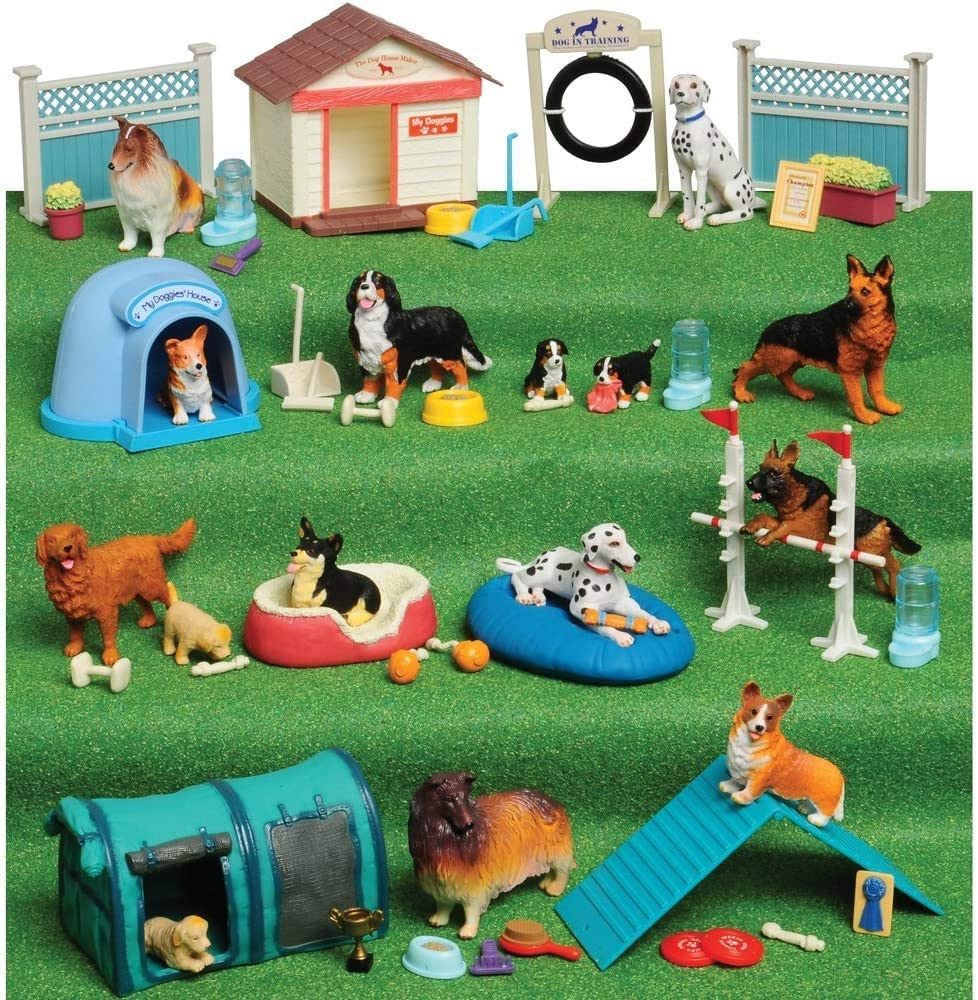 Constructive-Playthings-Dog-Academy-Playset