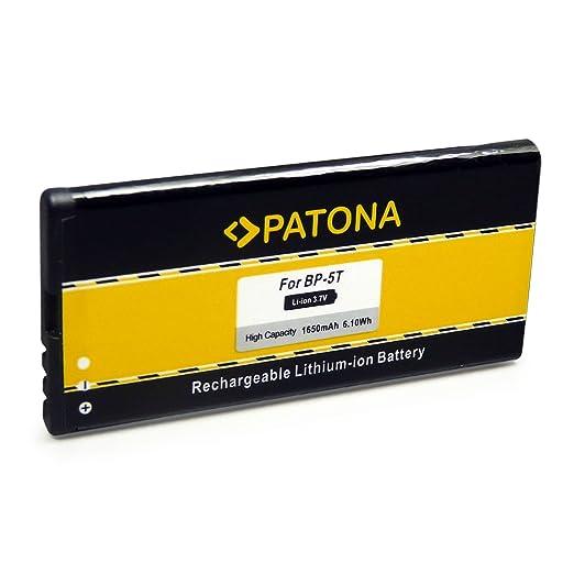 18 opinioni per PATONA Batteria BP-5T per Nokia Lumia 820