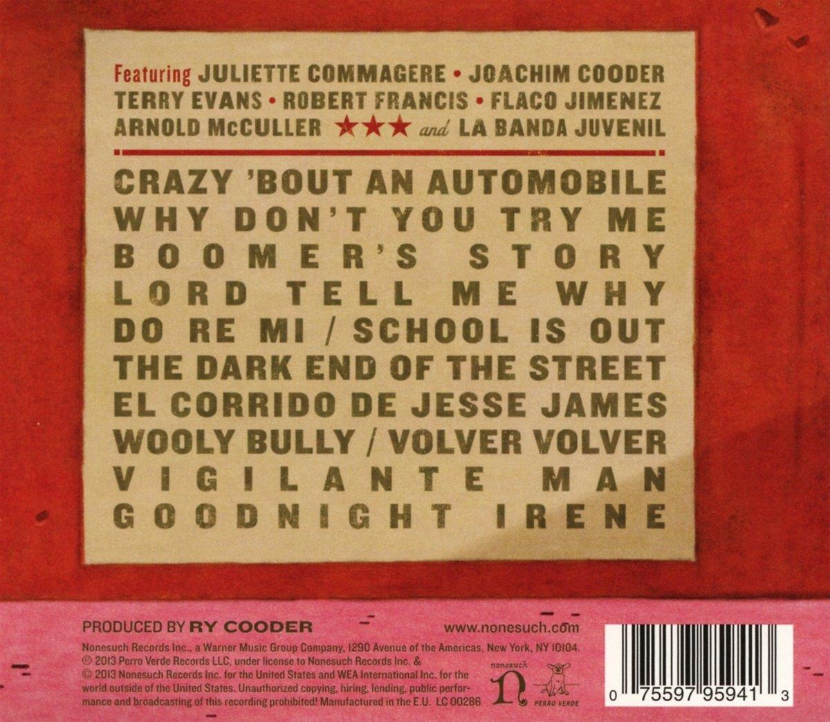 Ry Cooder & Corridos Famosos - Live In San Francisco - Amazon.com Music