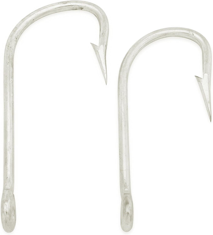 Mustad Shark Hooks/Alligator Hooks 34970-DT, Duratin, Sizes 3/0 and 3.5/0 (10 pcs)