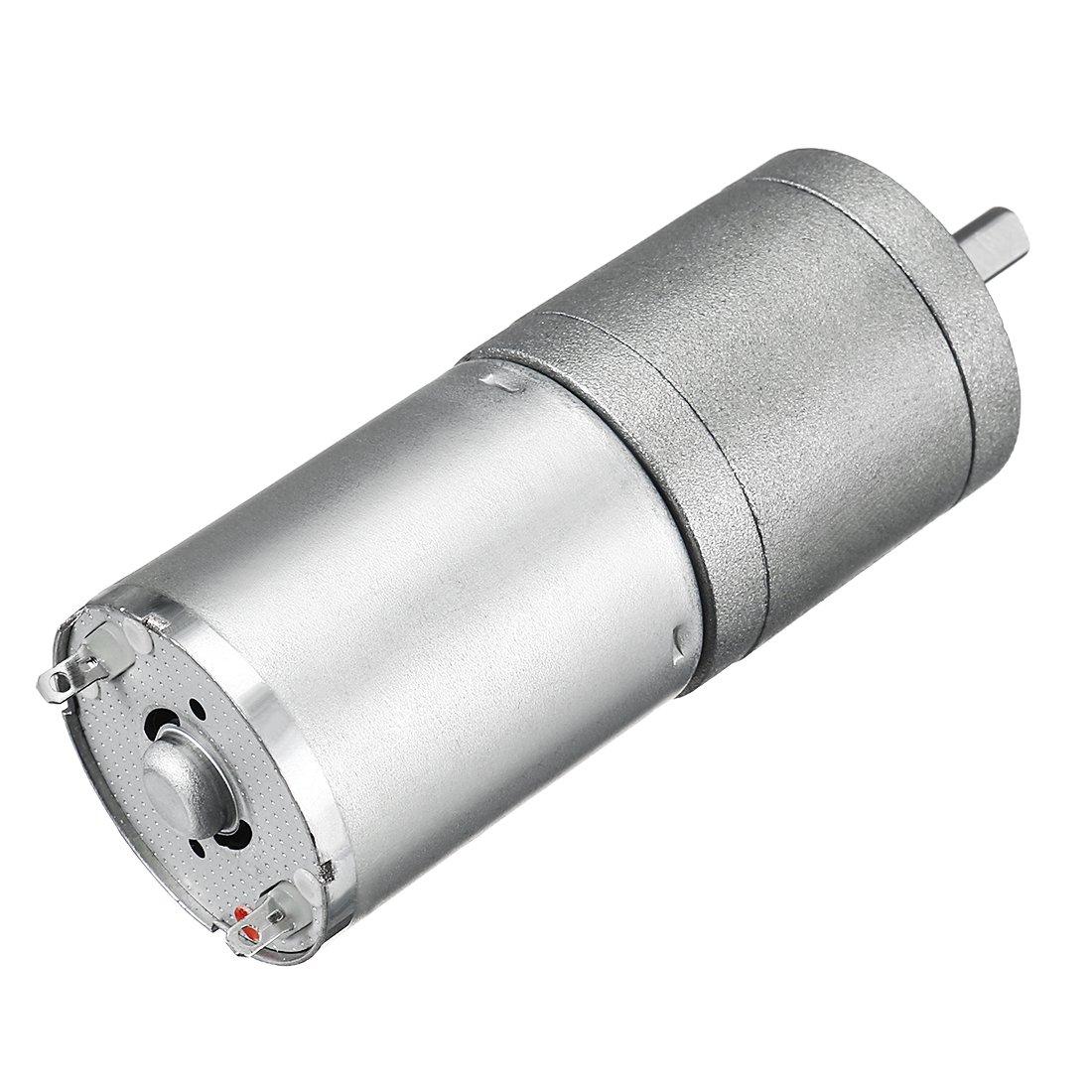 uxcell Mini 12V DC 7 RPM 118N.cm Gear Box Electric Motor