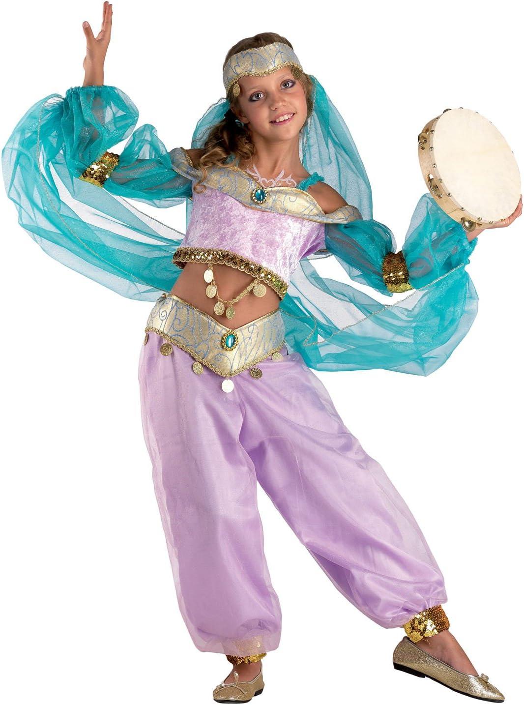 chiber Disfraces Disfraz Princesa Árabe para Niña (Talla 8 ...