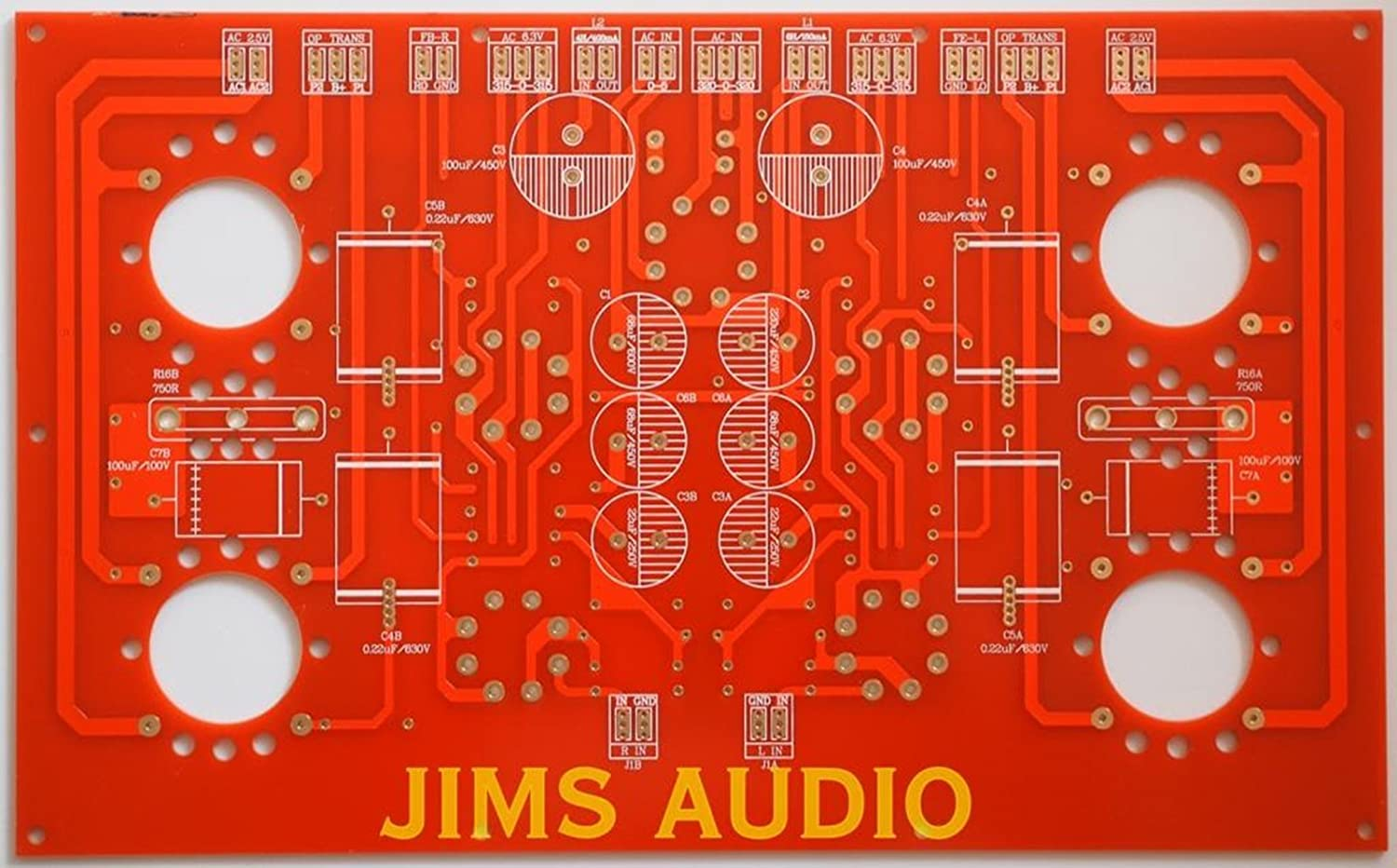 Single Board Stereo Pp Tube 2a3 Power Amplifier Pcb Audio Amplifierwith Home Theater