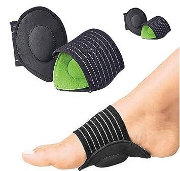 4pcs fascite plantare sostegno & Free eBook, (2 paia), piede piatto, imbottito piede solette per fascite plantare, tallone e caviglia, calzini, piede