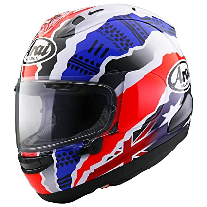 Arai Corsair X Doohan Star 2 Black/Red/Blue Full Face Helmet - Small