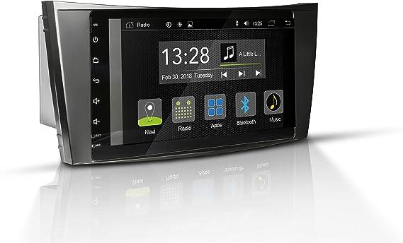 Radical R C10mb2 Mit 8 Touchscreen Autoradio Passend Für Mercedes E Klasse Mit 7 1 Android Os Vorbereitet Für Navigation Fm Radio Bluetooth Usb Easyconnect Unterstützt Ops Klimastatus Navigation