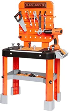 Black and Decker Junior Constructor Mesa De Trabajo Herramientas y ...