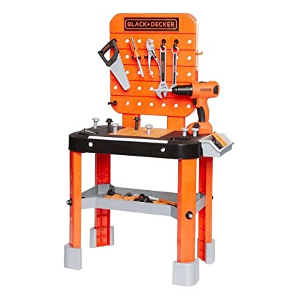 Pleasing Black Decker Junior Power Workbench Workshop With Realistic Action Lights Sounds 64 Tools Accessories Hotsaleonline 38 Pabps2019 Chair Design Images Pabps2019Com