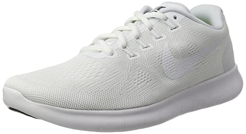 timeless design 51bce e62bb Nike Free RN 2017, Scarpe da Trail Running Uomo, Bianco White Black