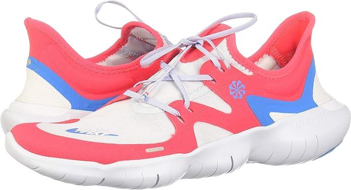 Nike Free RN 5.0 JDI, Zapatillas de Running para Hombre, Multicolor (Red Orbit/Blue Hero-Football Grey-White 600), 43 EU: Amazon.es: Zapatos y complementos