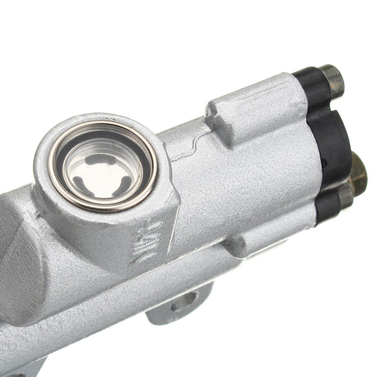Forspero 8mm Boulon Banjo Argent arri/ère ma/ître Cylindre de Frein hydraulique fit Pit Dirt Bike ATV