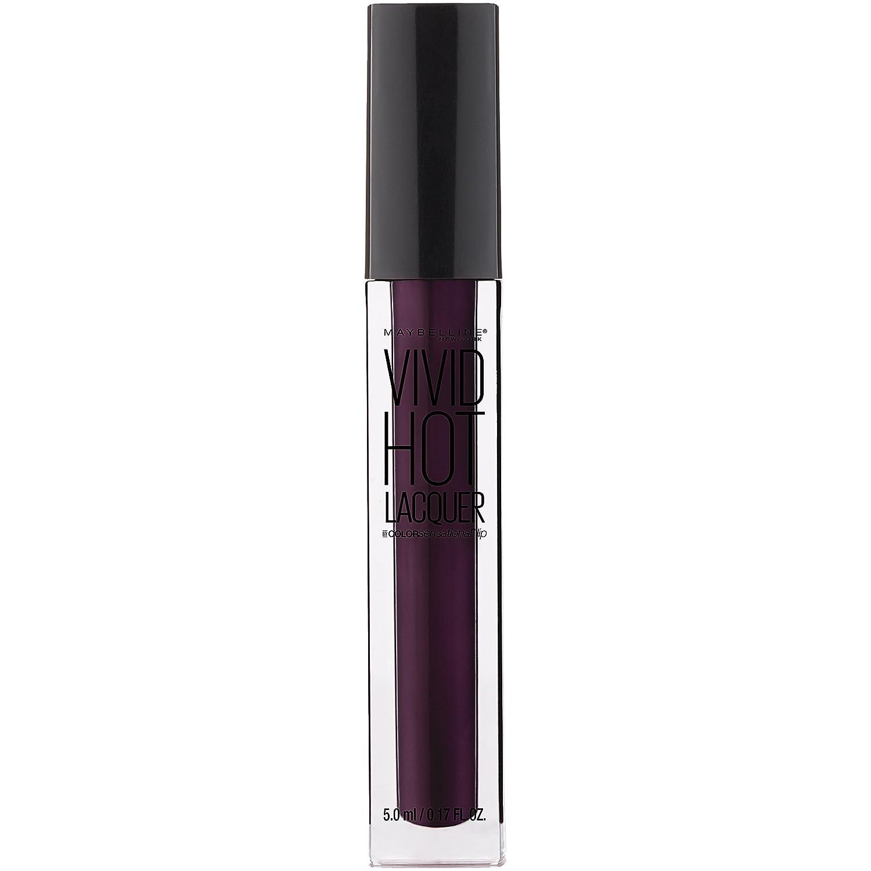 Maybelline New York Color Sensational Vivid Hot Lacquer Lip Gloss, Slay It, 0.17 fl. oz.